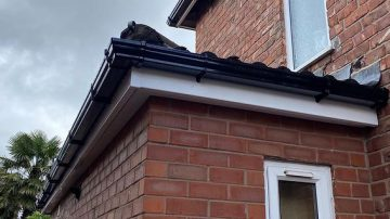 gutter replacements Broadheath