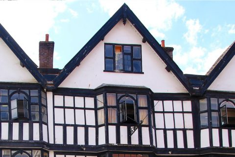 Warrington, WA1 1QE uPVC Mock Tudor Boards