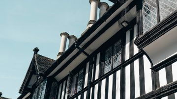upvc mock tudor house Warrington