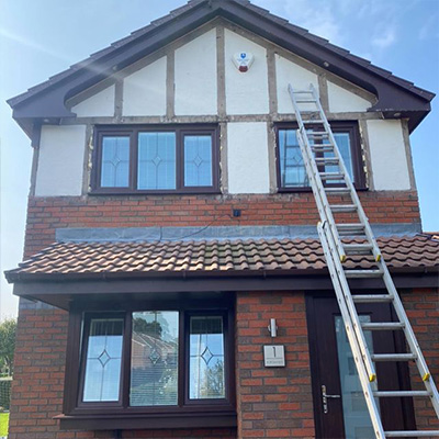upvc mock tudor house Cheadle